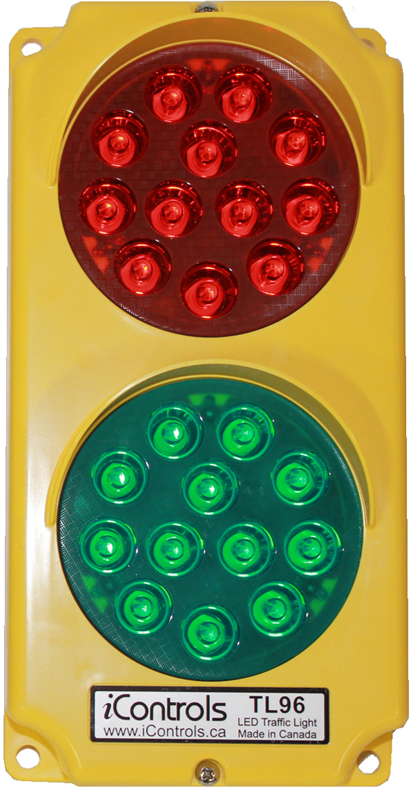 TL96 LED Stop & Go Traffic Light from iControls Inc.
